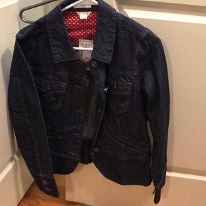 Adorable Christopher & Banks denim jacket